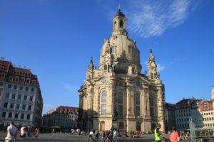 ドレスデン旧市街にあるフラウエン教会